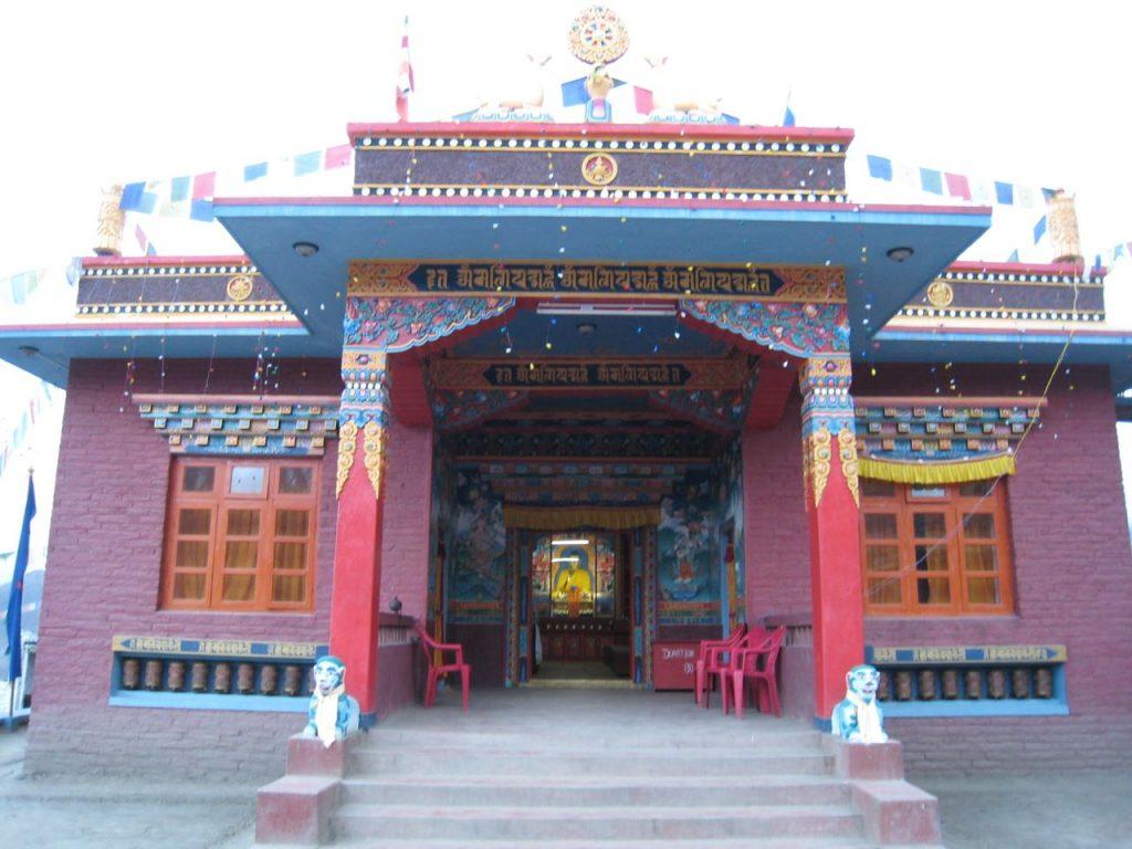 ムクティナートの仏教寺院 2007 ジョムソン・トレッキング