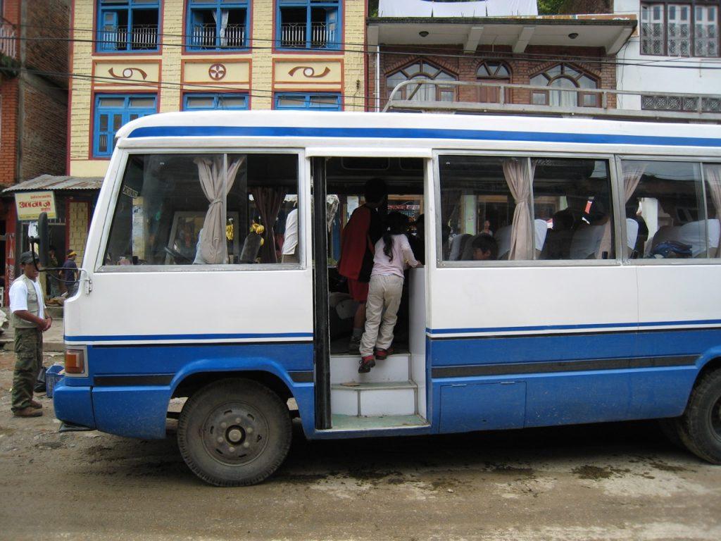移動のバス 2008 ランタン・トレッキング