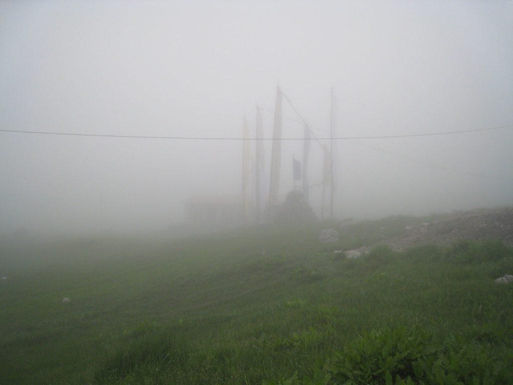 晴れない霧 2008 ランタン・トレッキング