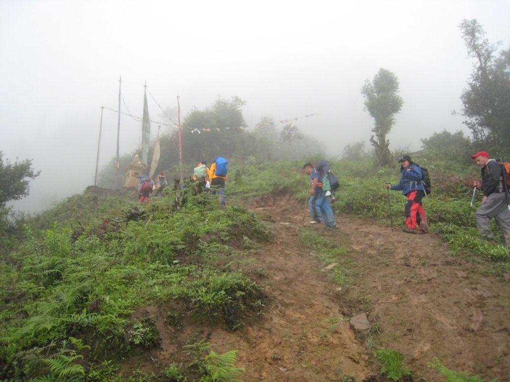 ひたすら登り続ける2008 ランタン・トレッキング