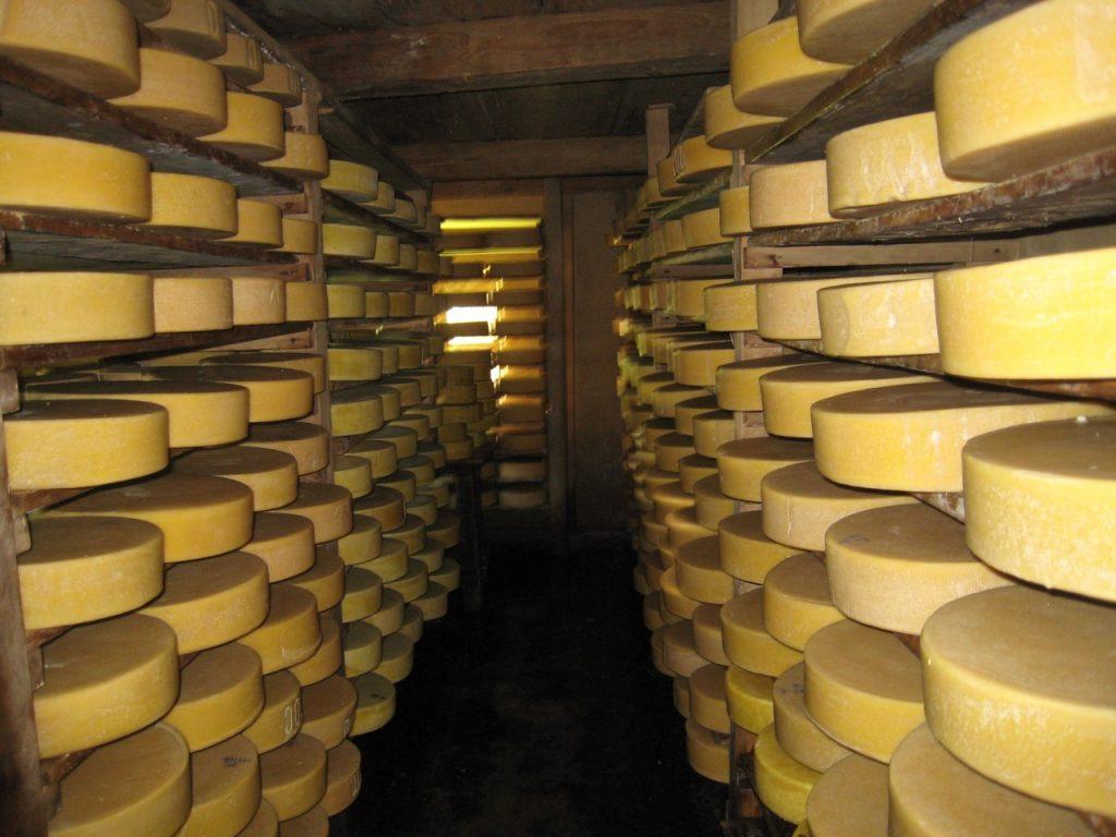チーズ工場の保管庫 2008 ランタン・トレッキング