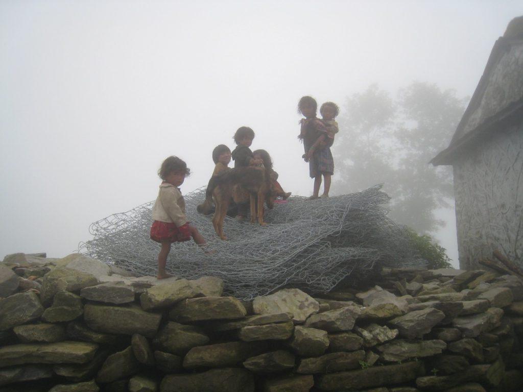 子供たち 2008 ランタン・トレッキング
