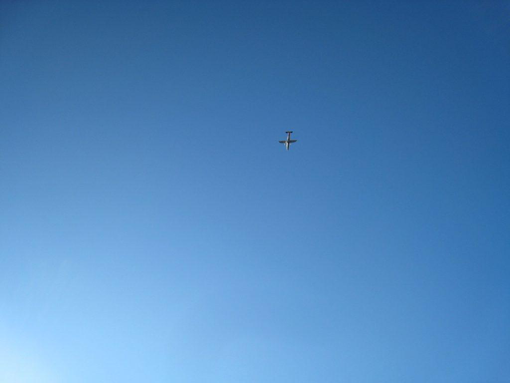 ポカラとジョムソンを結ぶ飛行機 2008 アンナプルナ・ベースキャンプ・トレッキング