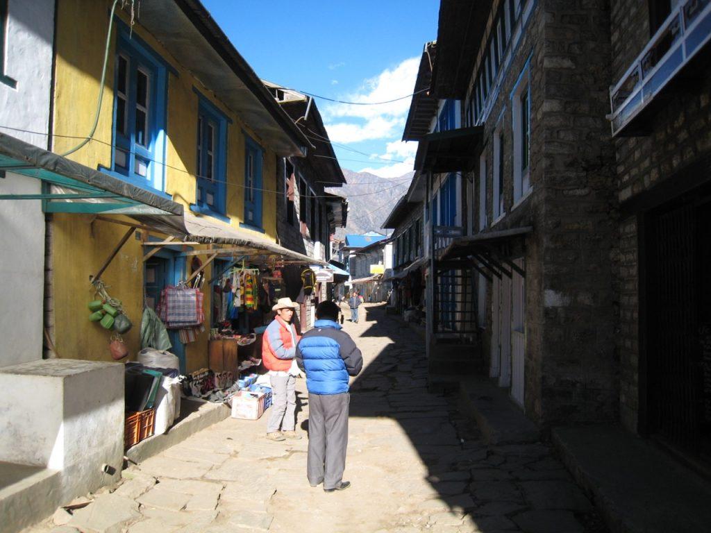 ルクラ村内 2009 ナムチェ・バザール・トレッキング