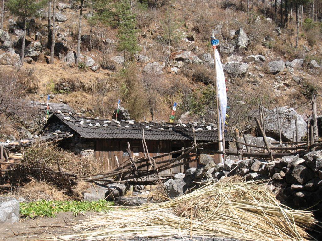 途中の村 2009 ナムチェ・バザール・トレッキング