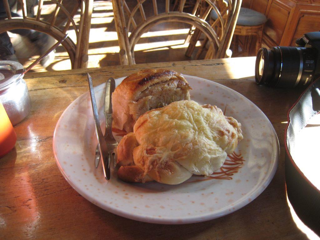 ナムチェ・バザールのカフェ 2010/11 ナムチェ・バザール・トレッキング