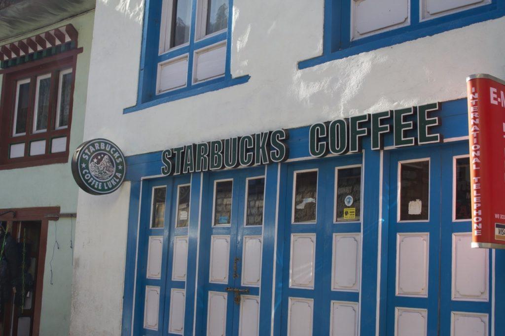 ルクラにあるコーヒー店 2010/11 ナムチェ・バザール・トレッキング
