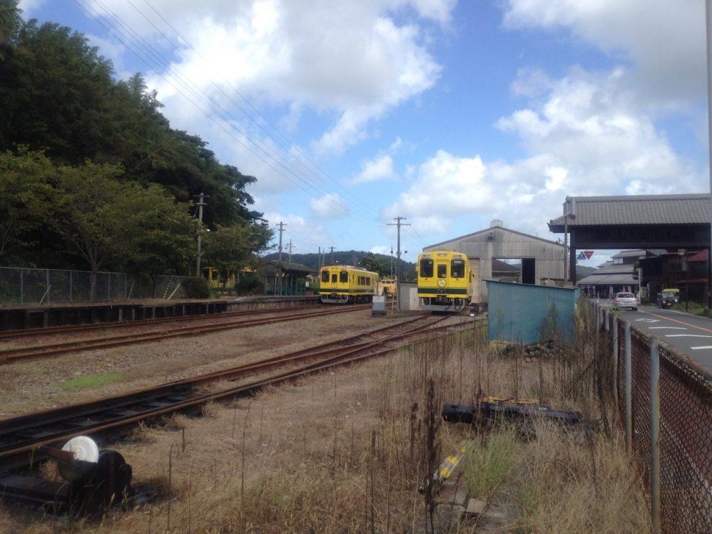 いすみ鉄道大多喜駅 2012年9月17日