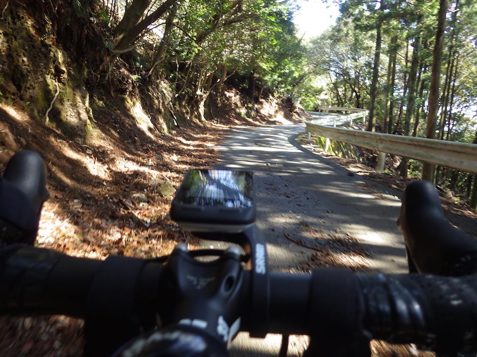 剣峠への登り 2015BRM307近畿300km松阪