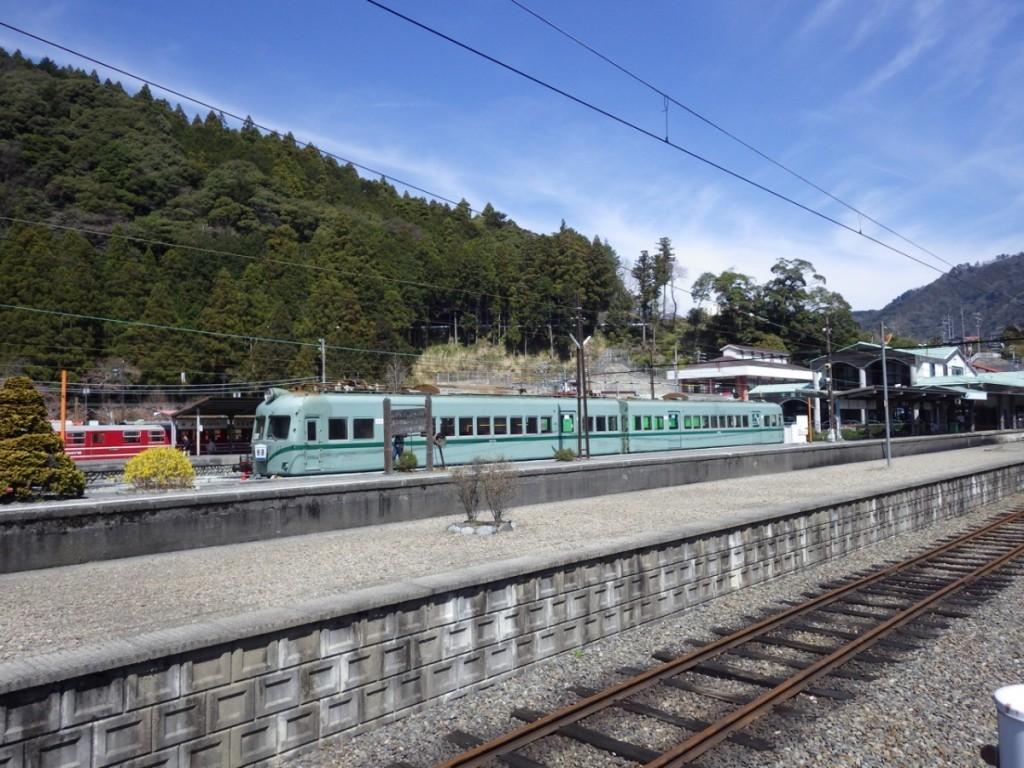 千頭駅 大分川鉄道の車両はなかなかかっこいい (2015BRM328井川300km)