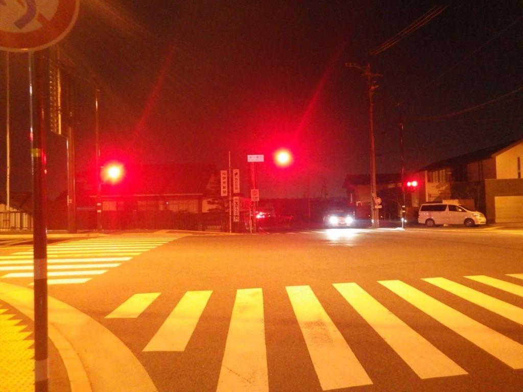 通行量も少なくなる (2015BRM328井川300km)