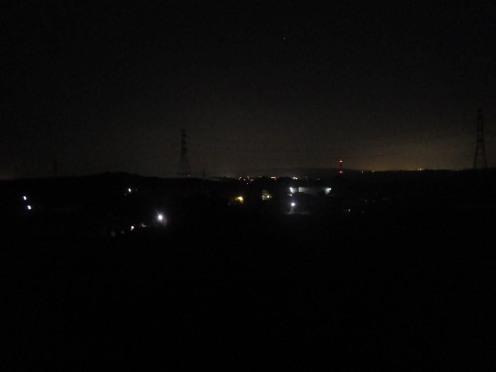 牧之原台地から掛川市方向 (2015BRM328井川300km)