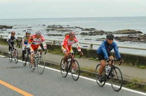 海岸線を進む 2012 ツール・ド・ちば 2日目