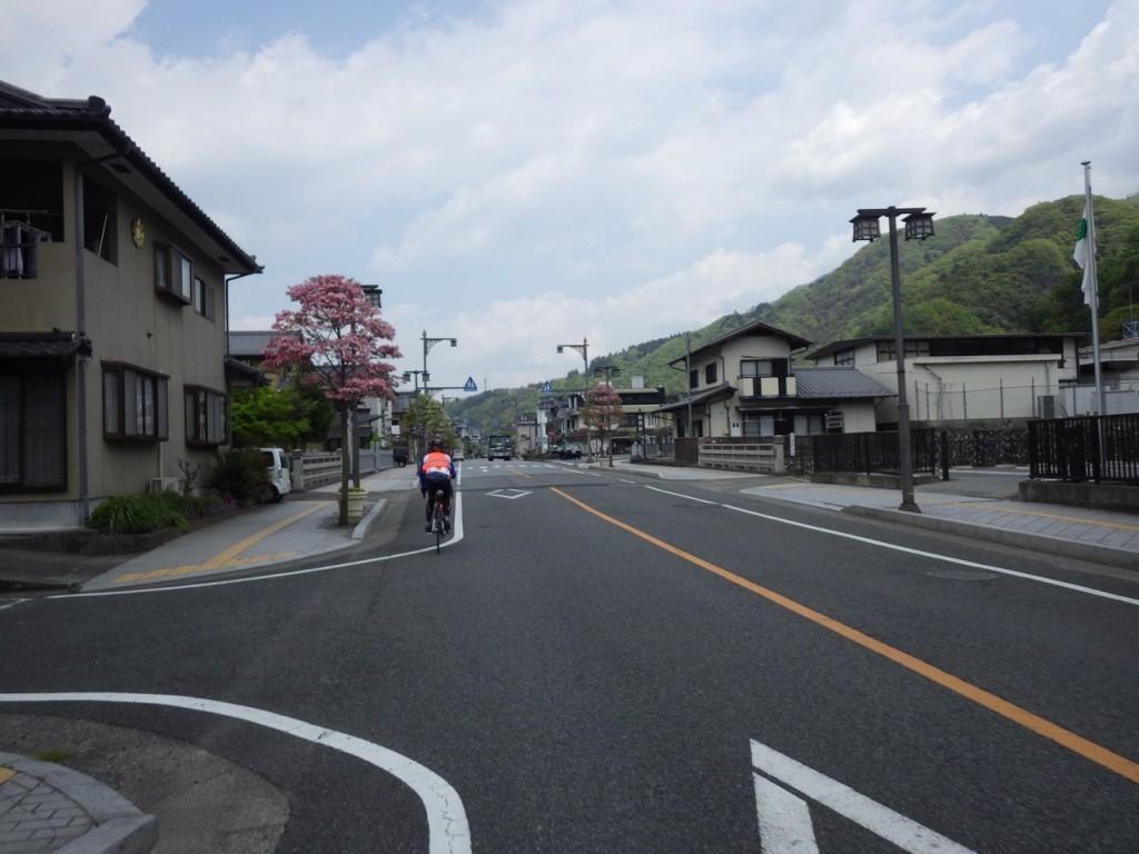 身延町駅前 (2015BRM425神奈川400興津)