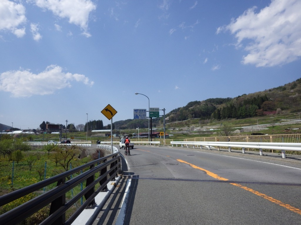 長野県に突入 (2015BRM425神奈川400興津)