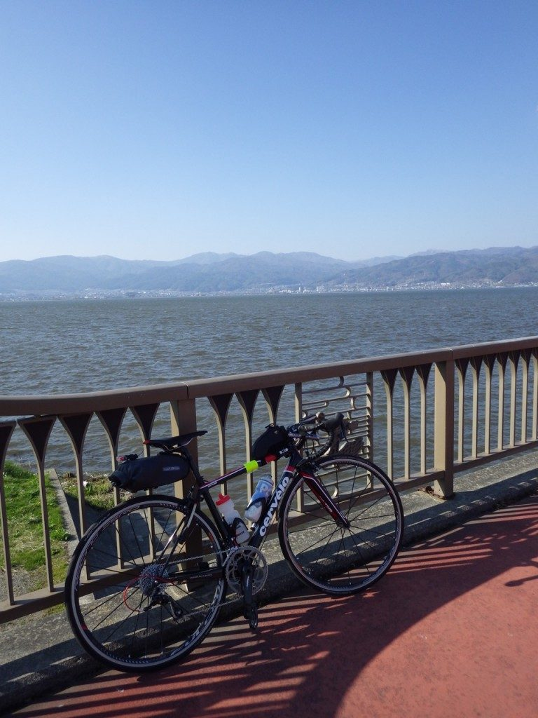 諏訪湖 (2015BRM425神奈川400興津)