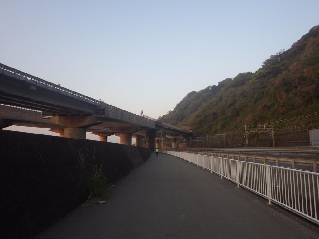由比まで戻ってきた (2015BRM425神奈川400興津)