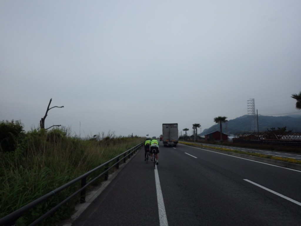 快適な国道150号線 (2015BRM509神奈川600興津)