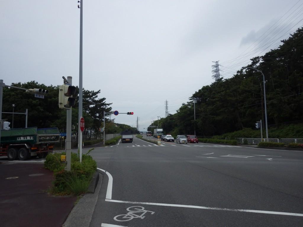 浜岡原子力発電所前 (2015BRM509神奈川600興津)