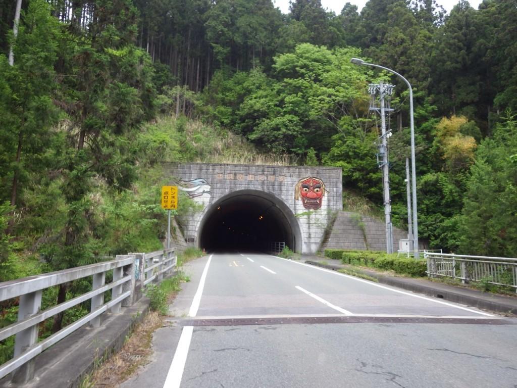 中設楽トンネル (2015BRM509神奈川600興津)