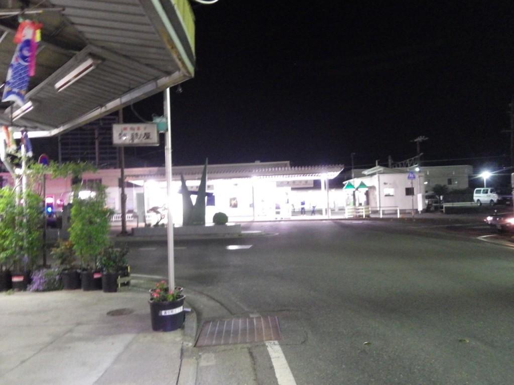 JR飯田線伊那市駅前 (2015BRM509神奈川600興津)
