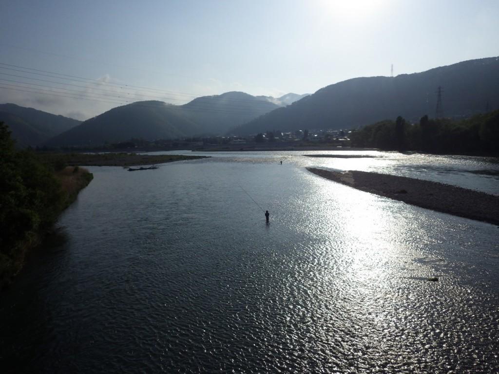 千曲川を渡る (2015BRM509神奈川600興津)