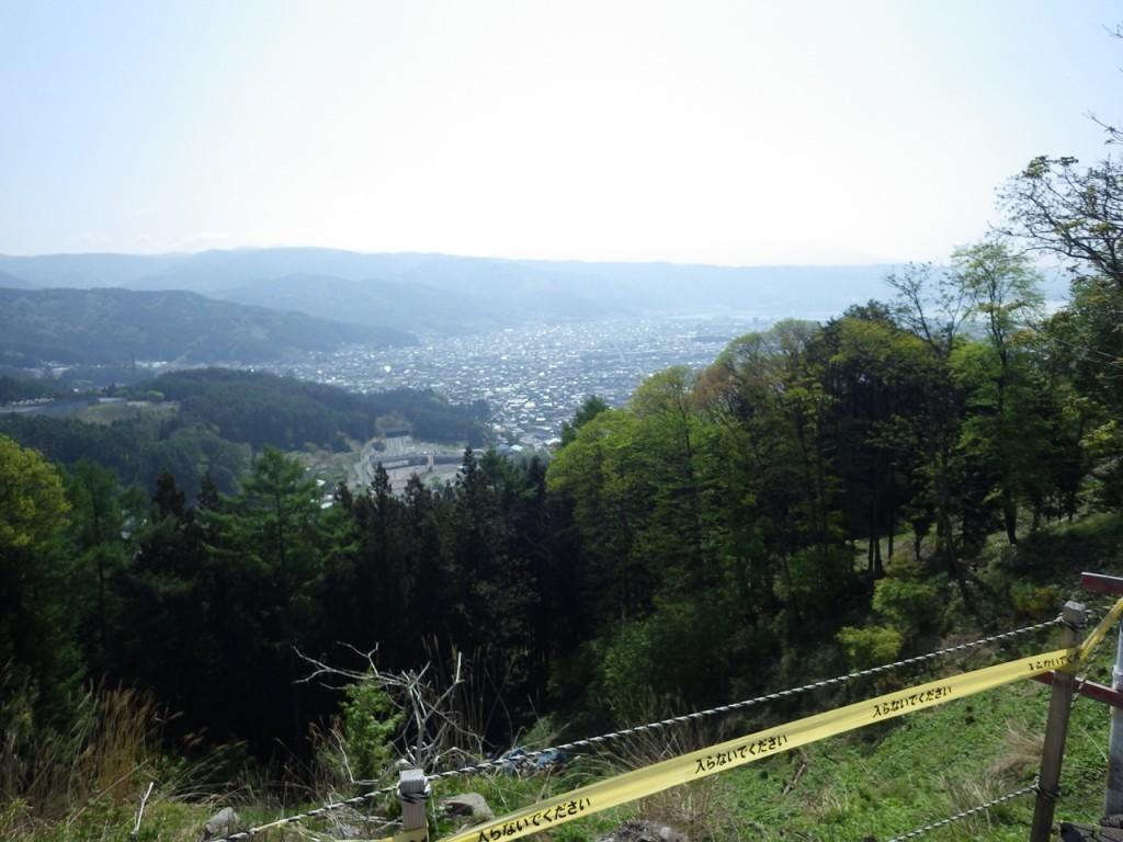 塩尻峠から諏訪湖 (2015BRM509神奈川600興津)