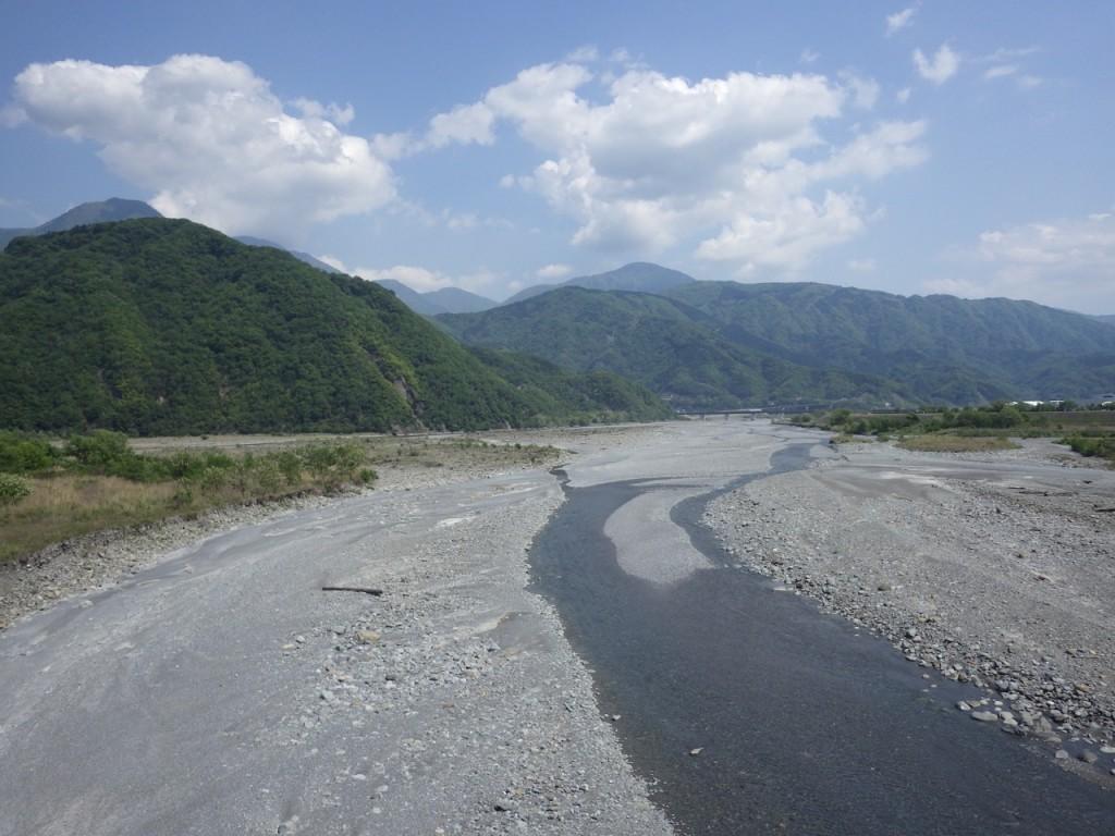 再び富士川を渡る (2015BRM509神奈川600興津)