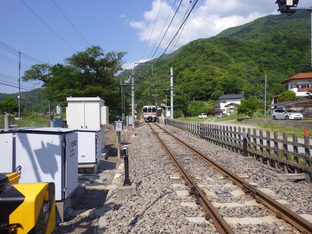 JR身延線波高島駅 (2015BRM509神奈川600興津)