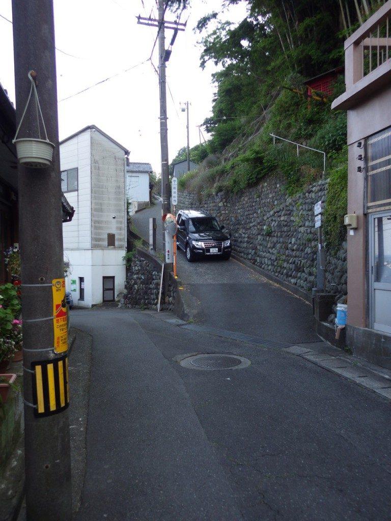 上る気にならない薩埵峠 (2015BRM509神奈川600興津)