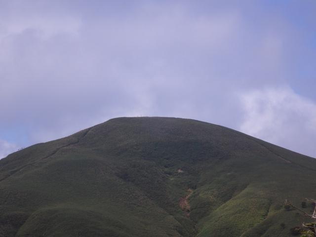 竜ヶ岳頂上 2014年8月19日
