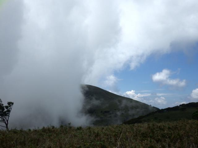 雲がでてきた 2014年8月19日