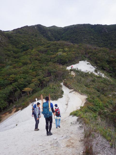 石榑峠から出発 2014年9月17日