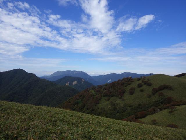 御池岳方向 2014年9月17日