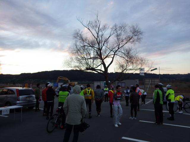 出走受付 BRM104静岡200 (2015年1月4日)