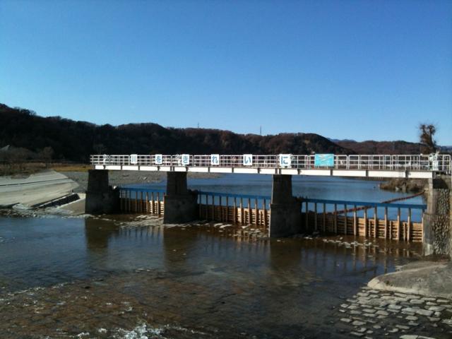 羽村堰 2012/12/23