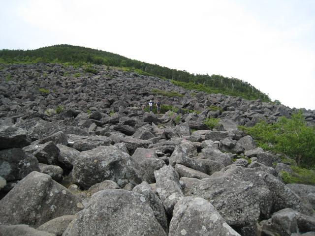 編笠山 2010年8月8日