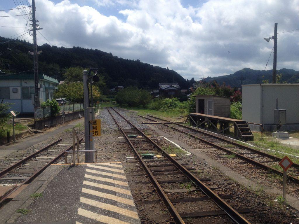 JR久留里線上総亀山駅 現在は無人駅になってしまった 2012/8/13