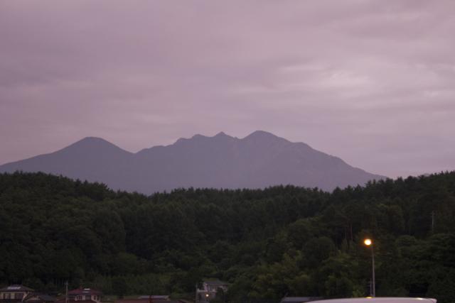 八ヶ岳連峰 2010年8月8日