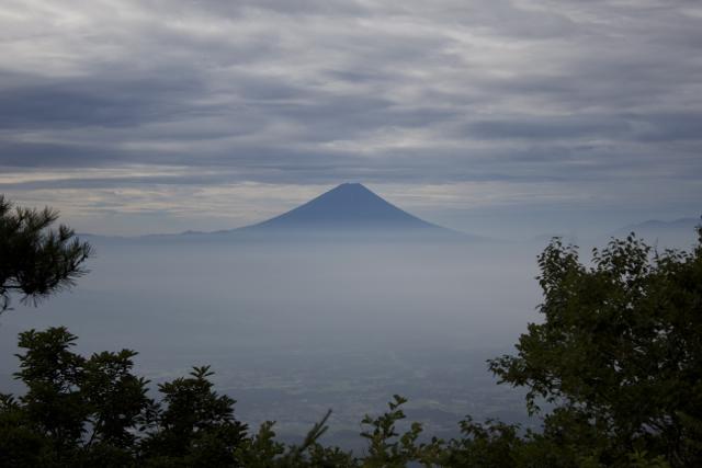富士山も見えた 2010年8月8日