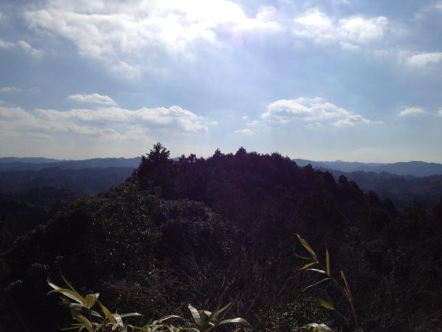 大福山 2013年2月10日