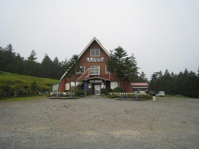 麦草峠 東天狗岳 (八ヶ岳) 2009年8月30日