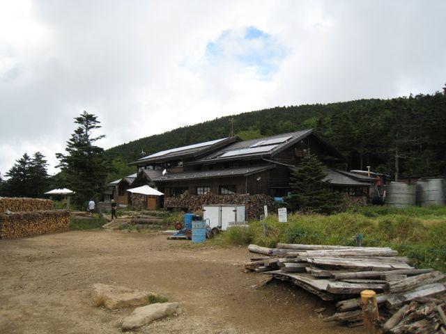 黒百合ヒュッテ 東天狗岳 (八ヶ岳) 2009年8月30日
