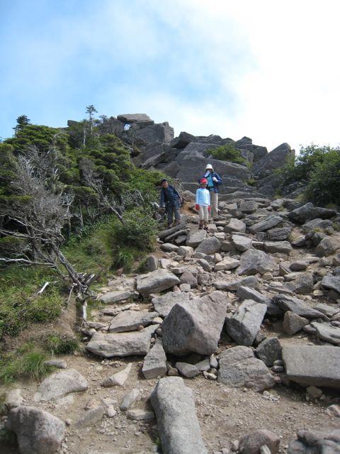 東天狗岳 (八ヶ岳) 2009年8月30日