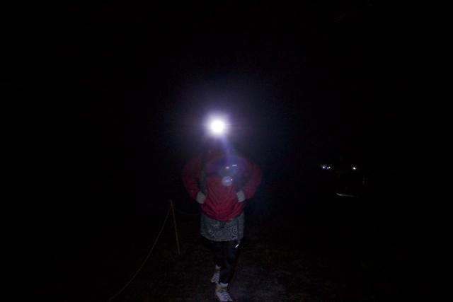 須走口から登り始める 富士登山 2011年7月11日
