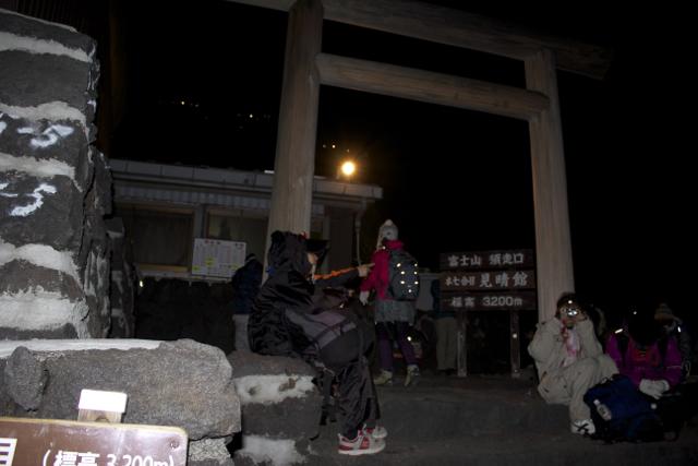 本7合目 富士登山 2011年7月11日