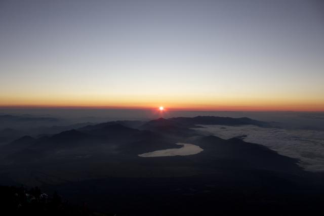ご来光 富士登山 2011年7月11日