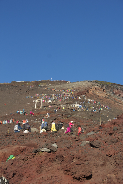 大渋滞 富士登山 2011年7月11日