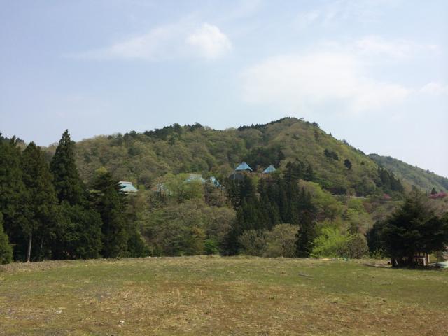 筒井峠から木地師やまの子の家 2014年5月3日