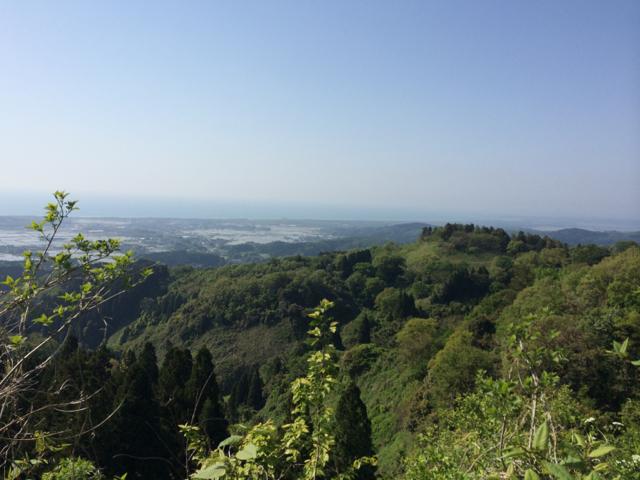 宝達山からの眺望 2014 BRM510近畿300丸岡